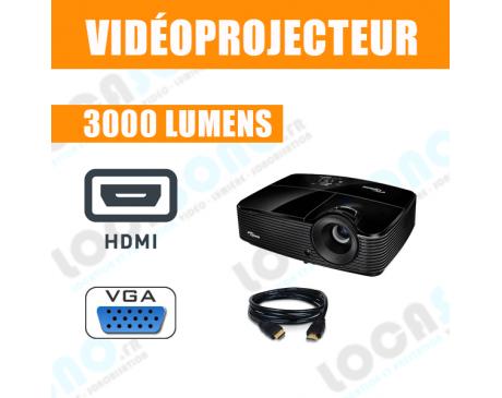 Videoprojecteur 3000 Lumens DLP HDMI