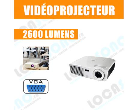 Location vidéoprojecteur -  2600 lumens - VGA