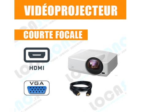 Location vidéoprojecteur courte focale 3000 lumens HDMI