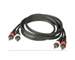Câbles double RCA vers RCA 3m