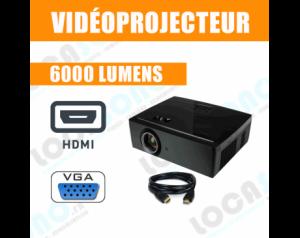 Vidéoprojecteurs 6000...