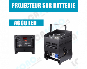 Location projecteur LED sur...