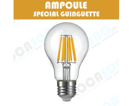 Location ampoule à LED filament blanc chaud - 4W