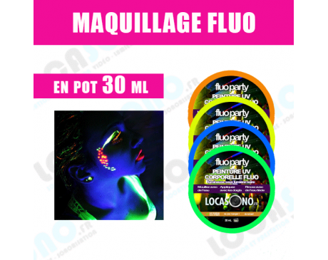 Vente  Maquillage Fluo Party - 30 Ml