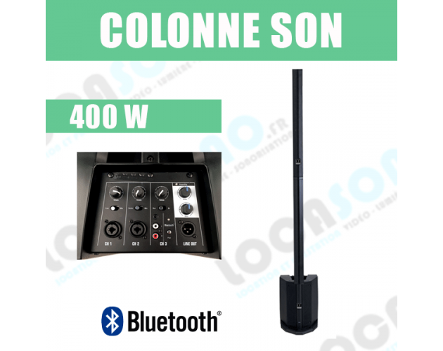 location enceinte colonne de sonorisation 400 w a Lyon