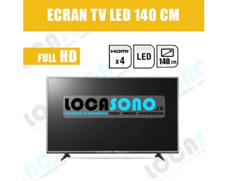 Location écran LED 55 pouces - 140 cm full HD