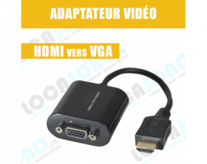 Adaptateur vidéo HDMI vers VGA