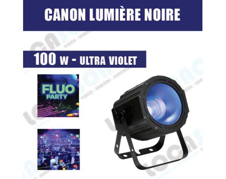 Canon de lumière noire UV -  LED 100W