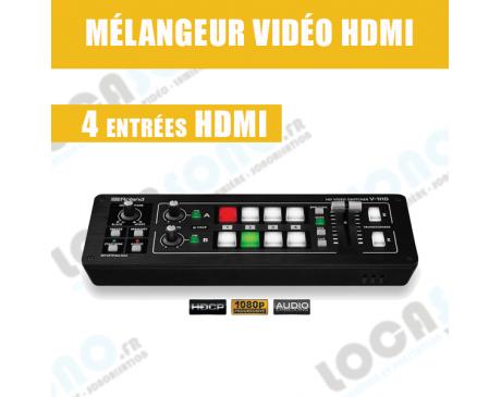 Location mélangeur vidéo professionnel HDMI