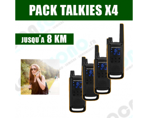 PACK  4 Talkies Walkies -...