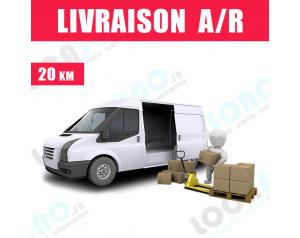 Service de Livraison 3 m² -...