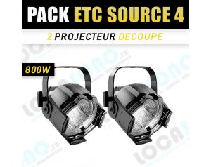 Pack 2 Projecteurs PAR ETC...