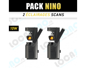 Pack 2 Scan NINO LED 10w
