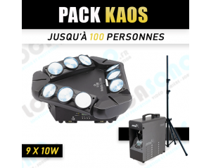 PACK KAOS 60 a 100 personnes