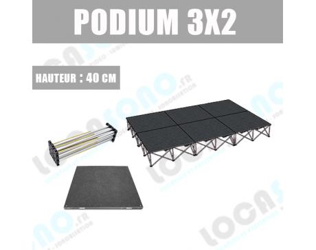 Location de scène Podium 6 M²