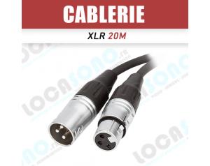 Câble XLR 20m