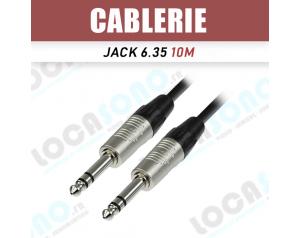 Vente câble Jack 6.35 10m