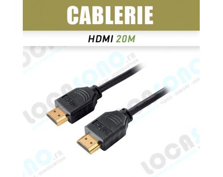 Câble HDMI 20m blindé