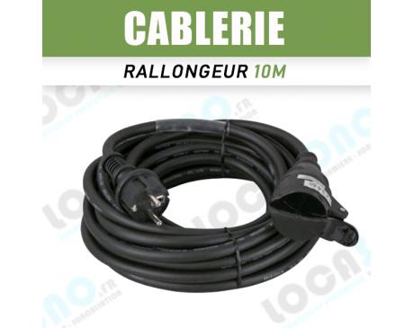 Vente Prolongateurs Pro électriques Moules 10m 16A – Mâle/Femelle