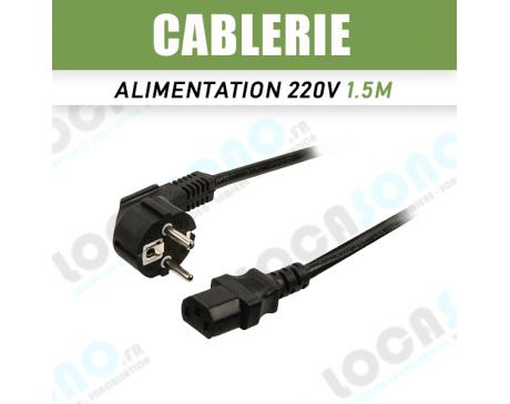 Vente câble alimentation CEE 1.5M