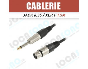 Vente câble XLR...