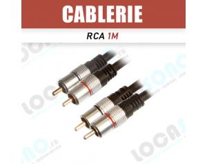 Câble Double RCA vers RCA 3m