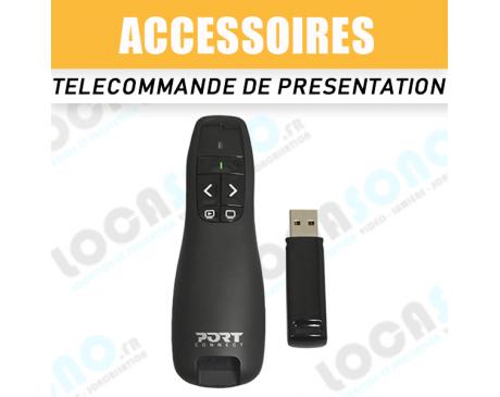 Location télécommande de présentation USB