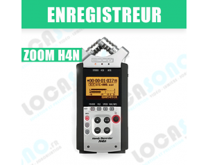 ZOOM H4N Enregistrement 4...