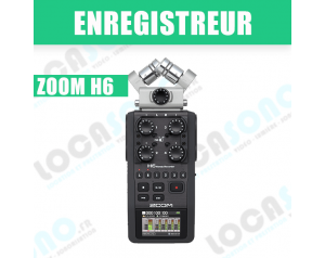 ZOOM H6 Enregistrement 6...