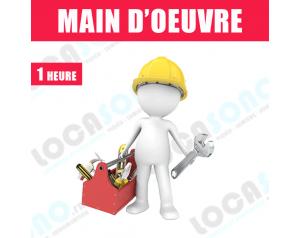 Main d'oeuvre 1H - Tarif...