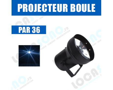projecteur boule a façettes par 36