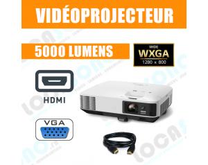Vidéoprojecteur 5000 Lumens...