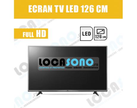 Location Ecran LED 50 pouces  - 126 cm full HD 4K