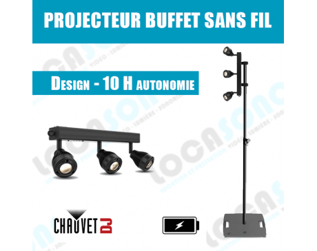 Location projecteur buffet / stand  sans fil