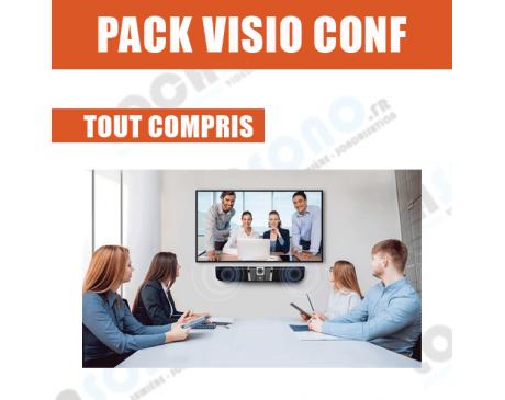 Pack Visio conférence 4 à 6 personnes - Livraison et installation