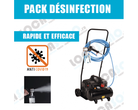 Location pack désinfection - Anti COVID