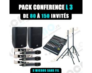Location pack conférence L3...