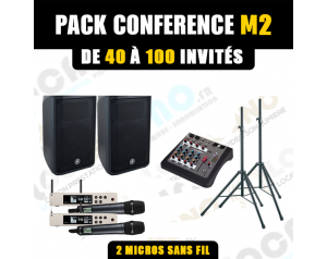 Location pack conférence M2...