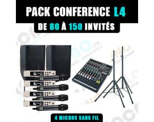 Location pack conférence L4...