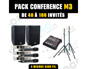 Location pack conférence M3...