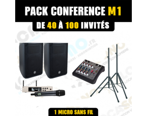 Location pack conférence M1...