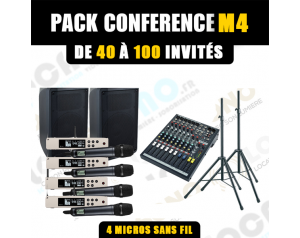 Location pack conférence M4...