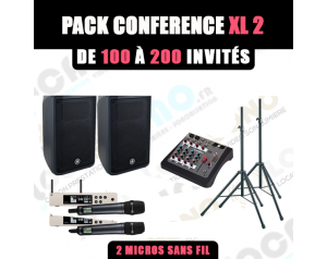 Location pack conférence XL...