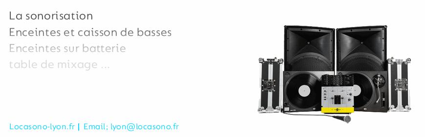 Location de matériel de sonorisation à Lyon dans votre magasin